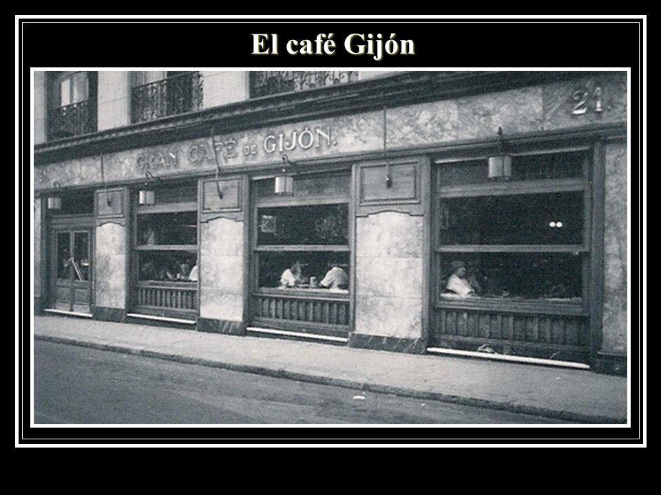 El café Gijón