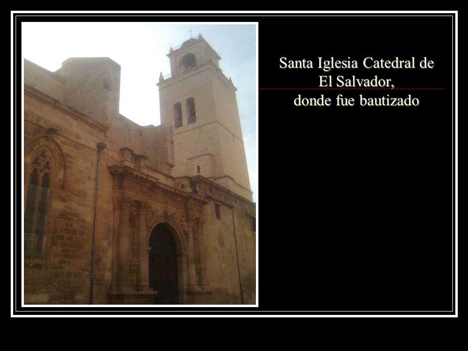 Santa Iglesia Catedral de El Salvador, donde fue bautizado