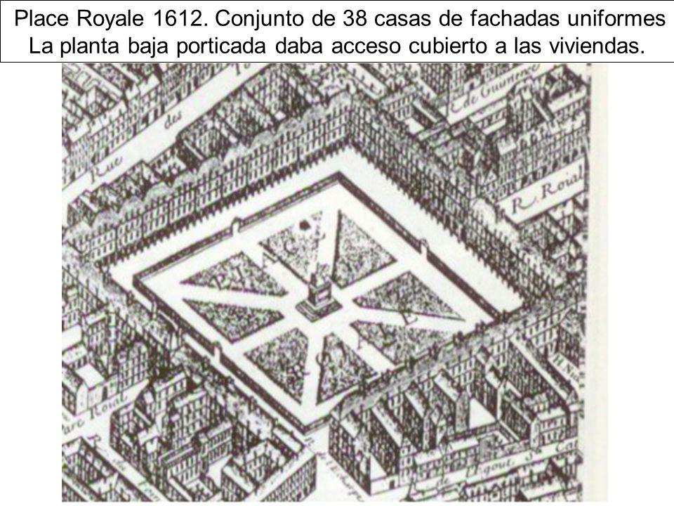 Place Royale 1612.