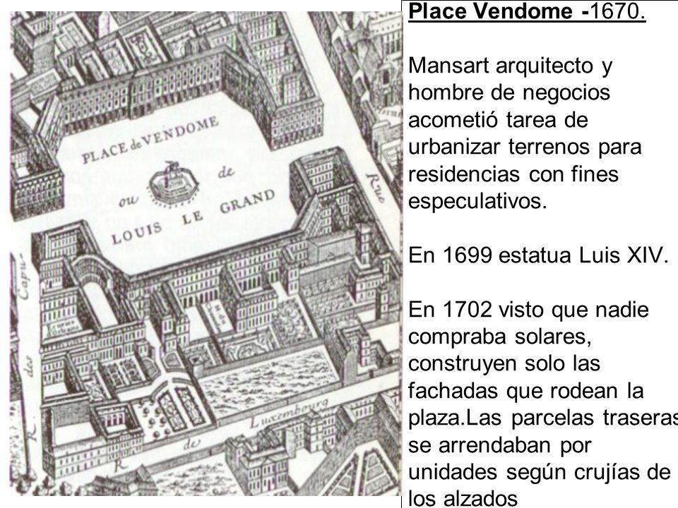 Place Vendome -1670.