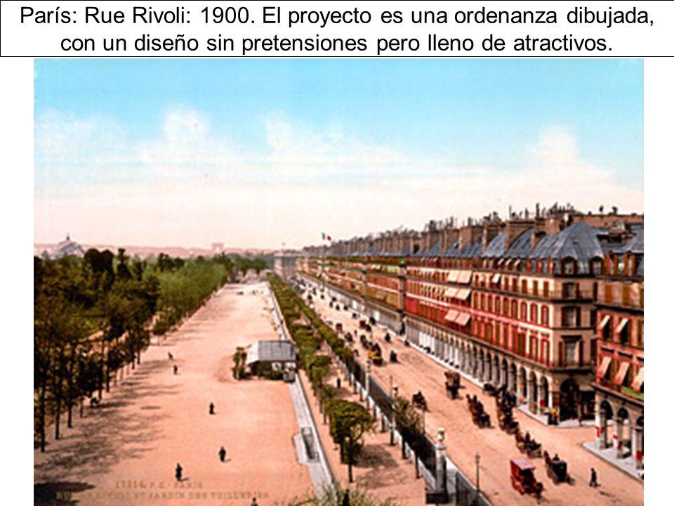 París: Rue Rivoli: 1900.