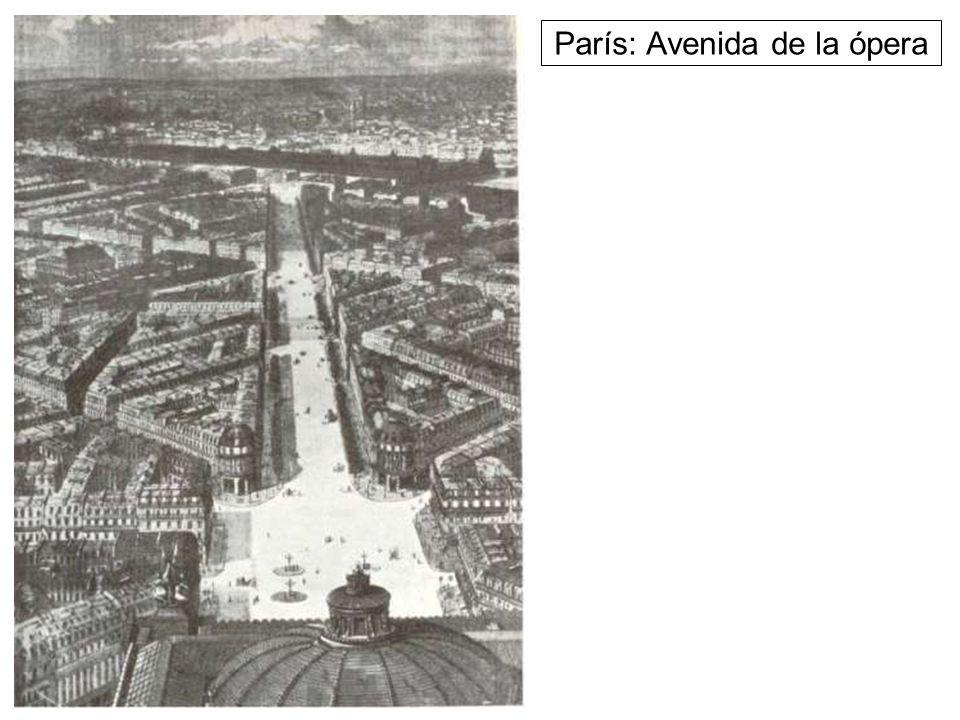 París: Avenida de la ópera