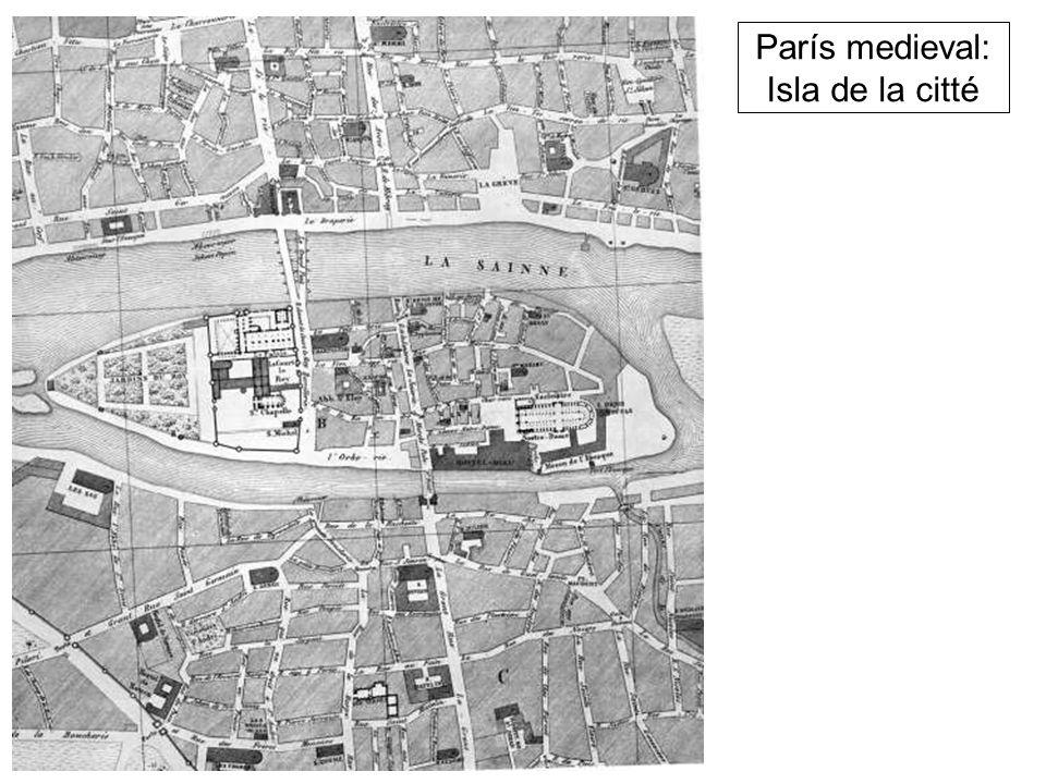 París medieval: Isla de la citté