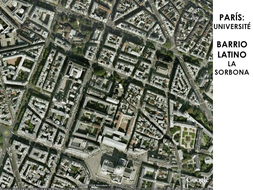 PARÍS: UNIVERSITÉ BARRIO LATINO LA SORBONA