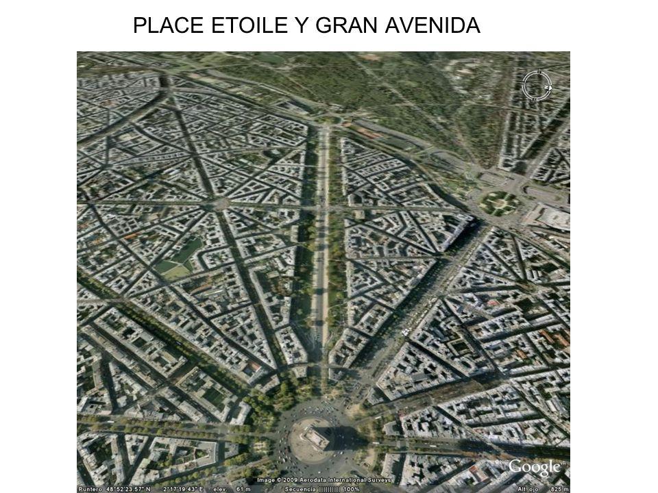 PLACE ETOILE Y GRAN AVENIDA