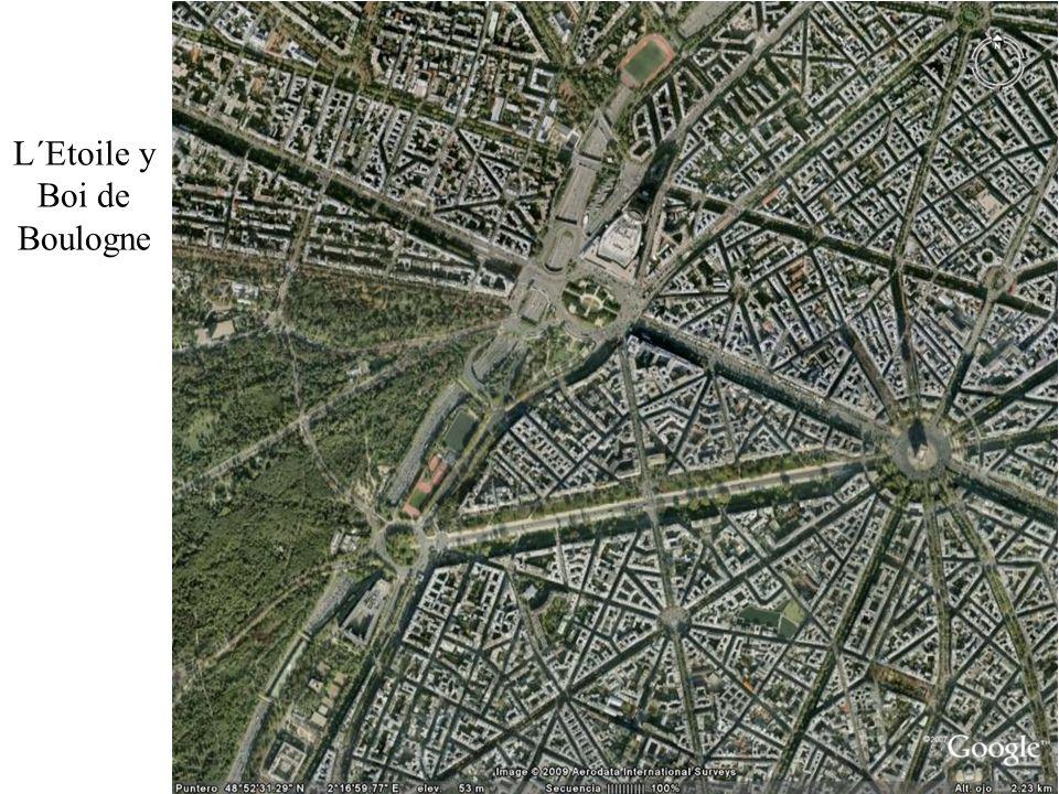 L´Etoile y Boi de Boulogne