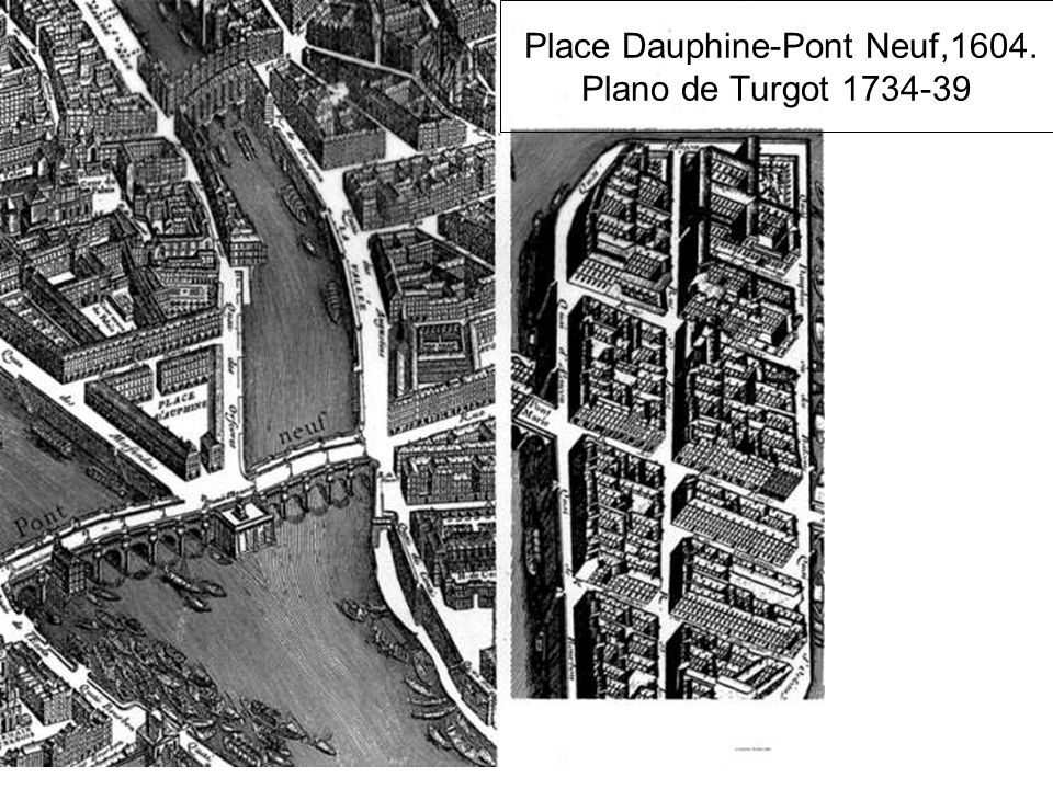 París: Place des Victoires: El foco de atracción es la estatua ecuestre de Luis XIV, rodeada en origen de grupos de farolas.