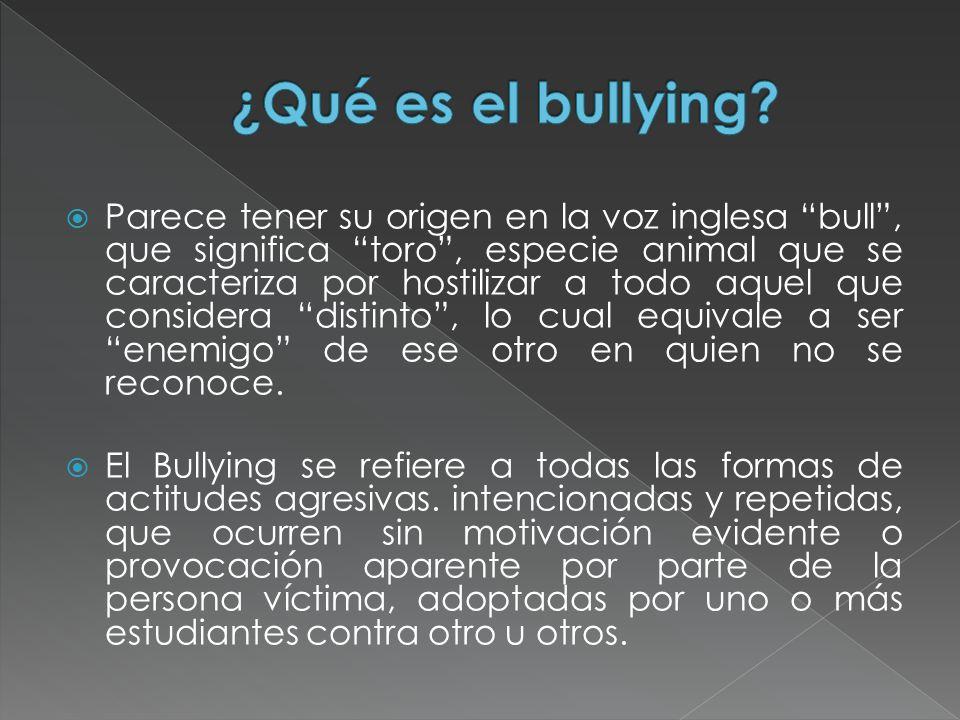 En el último tiempo los medios de comunicación han estado llenos de noticias sobre bullying (acoso escolar).