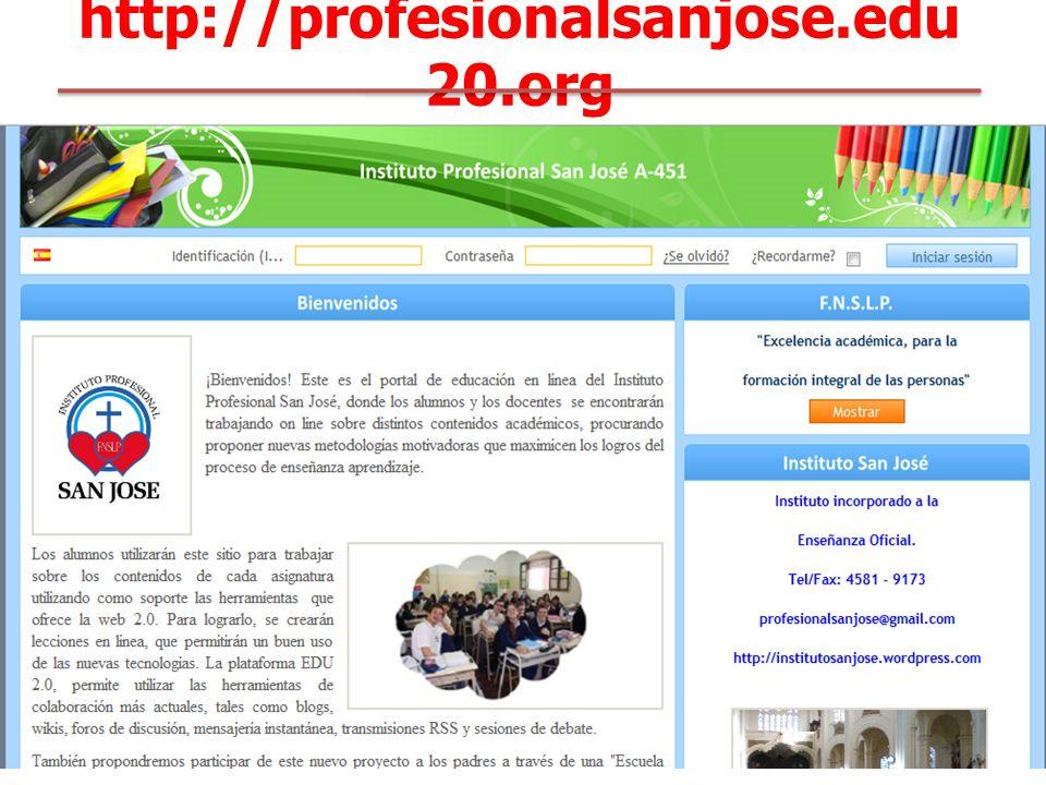 http://profesionalsanjose.edu 20.org