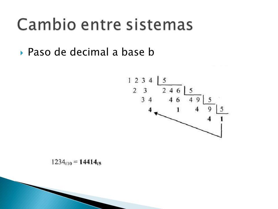 Paso de decimal a base b