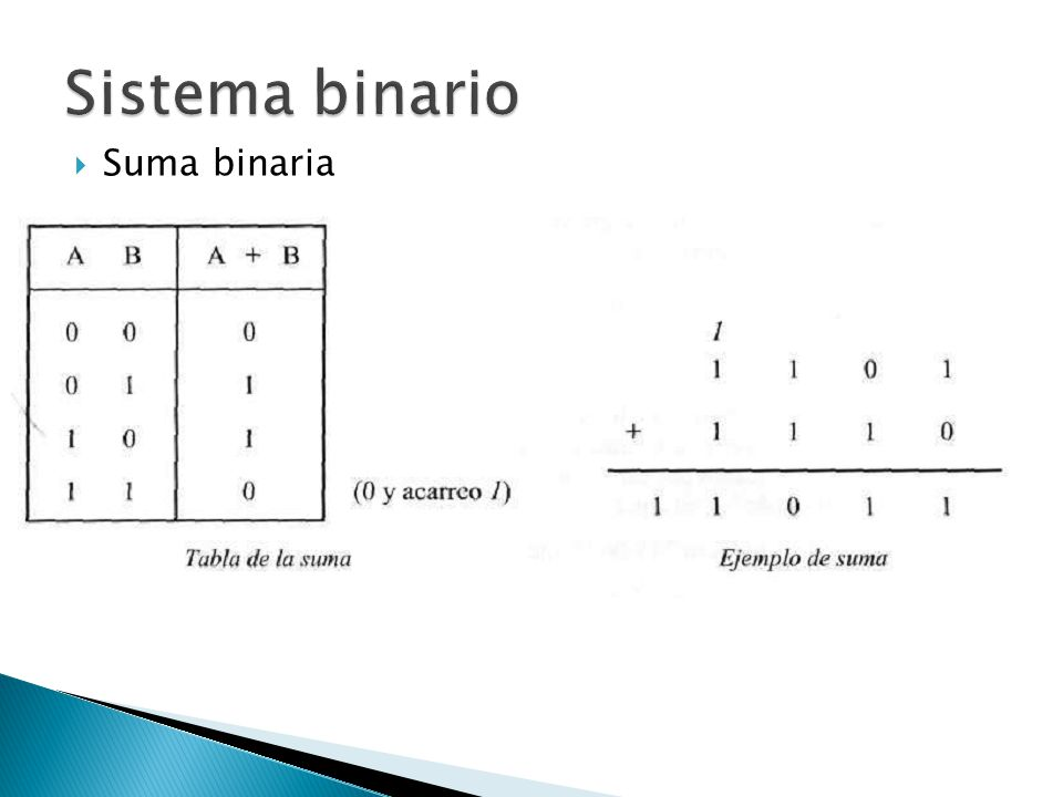 Suma binaria