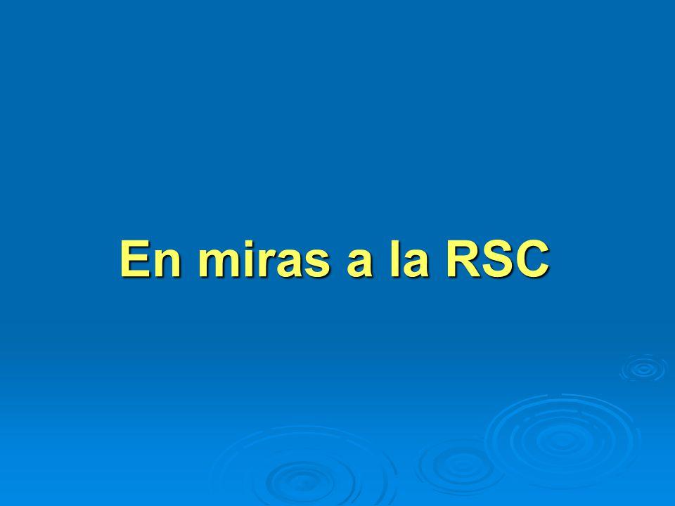 En miras a la RSC