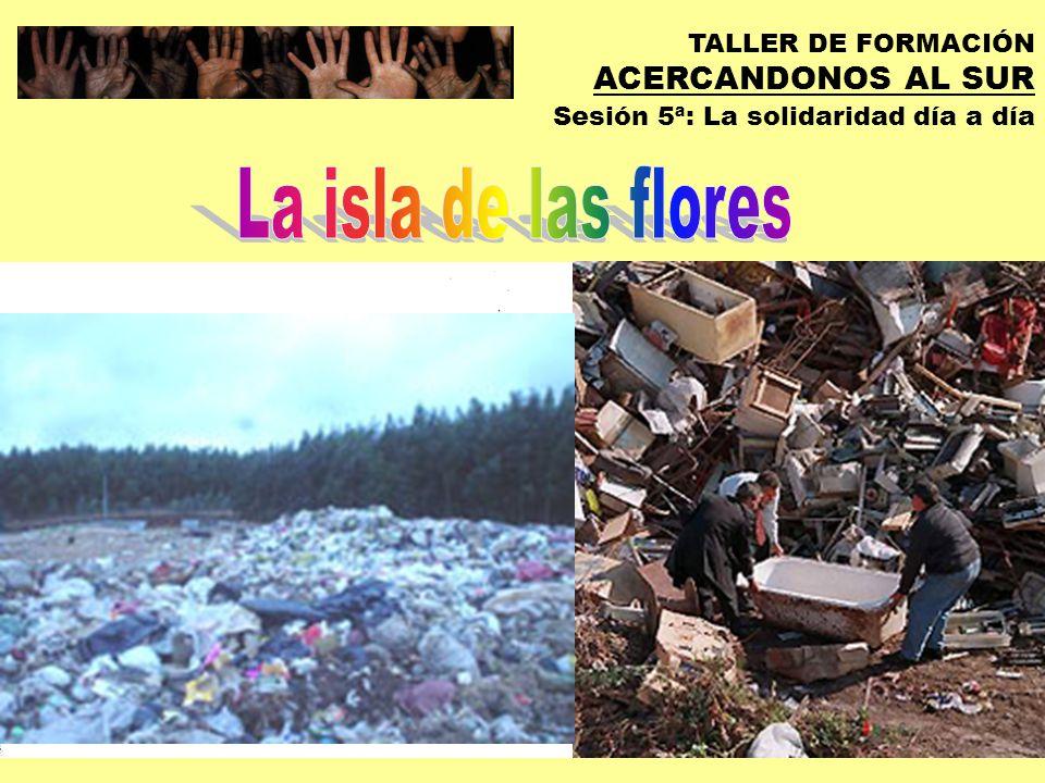TALLER DE FORMACIÓN ACERCANDONOS AL SUR Sesión 5ª: La solidaridad día a día EXPERIENCIAS Y PISTAS DE SOLIDARIDAD COTIDIANA