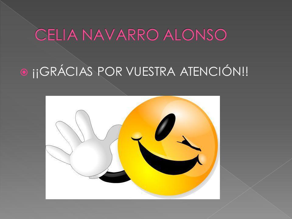 ¡¡GRÁCIAS POR VUESTRA ATENCIÓN!!