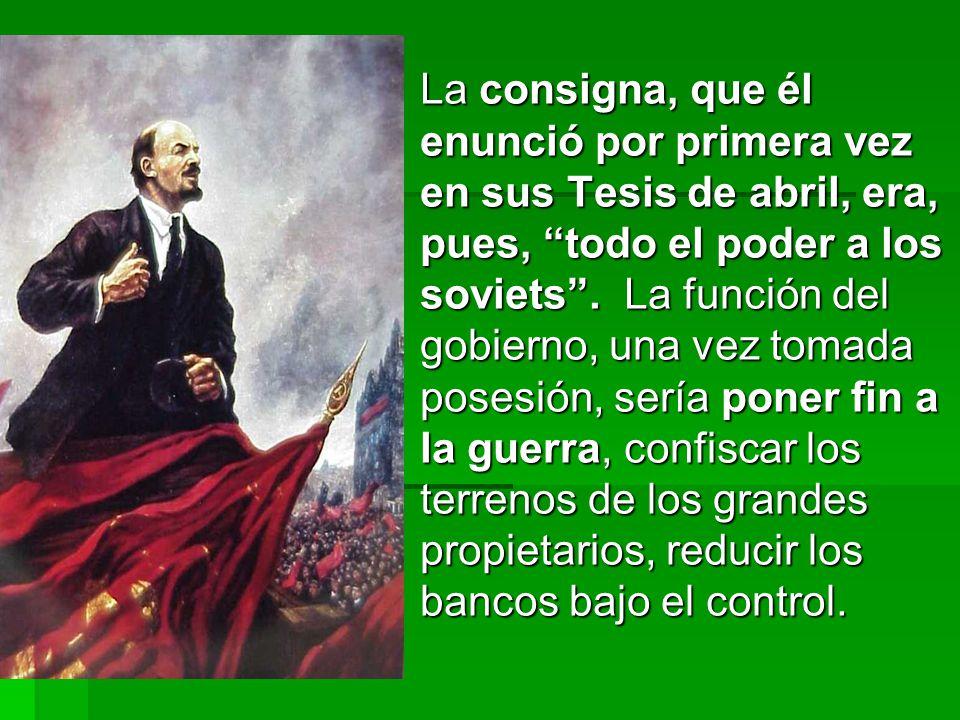 A juicio de Lenin una de las condiciones para el éxito del nuevo curso de la política económica consistía en la reinserción de la URSS en el circuito de la economía internacional.