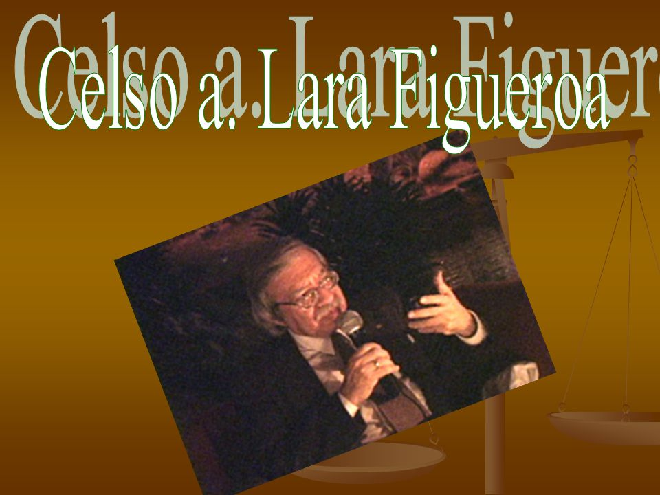 Celso A.Lara Figueroa nació en 1948. Historiador, antropólogo, poeta y músico guatemalteco.