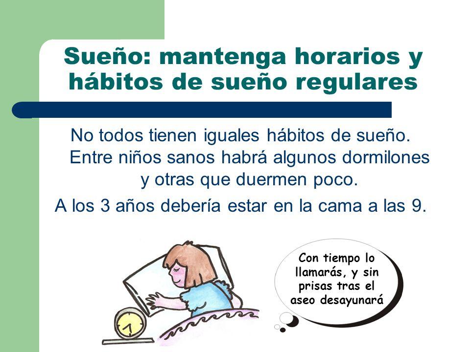 No todos tienen iguales hábitos de sueño.