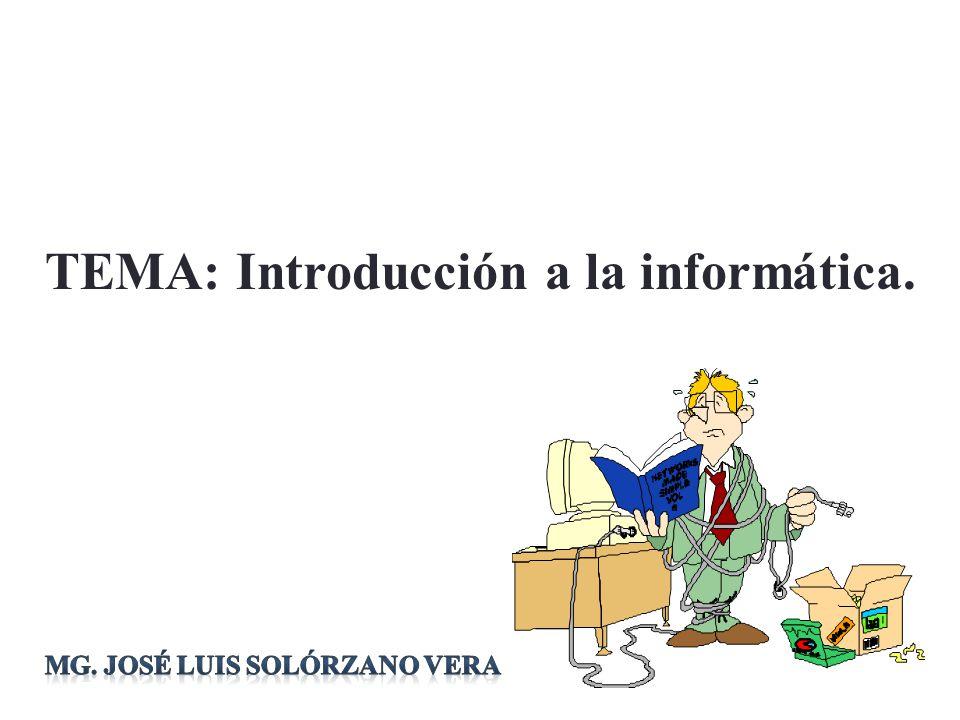 Definiciones Es el término resultante de la contracción de los vocablos INFORmación y autoMÁTICA.