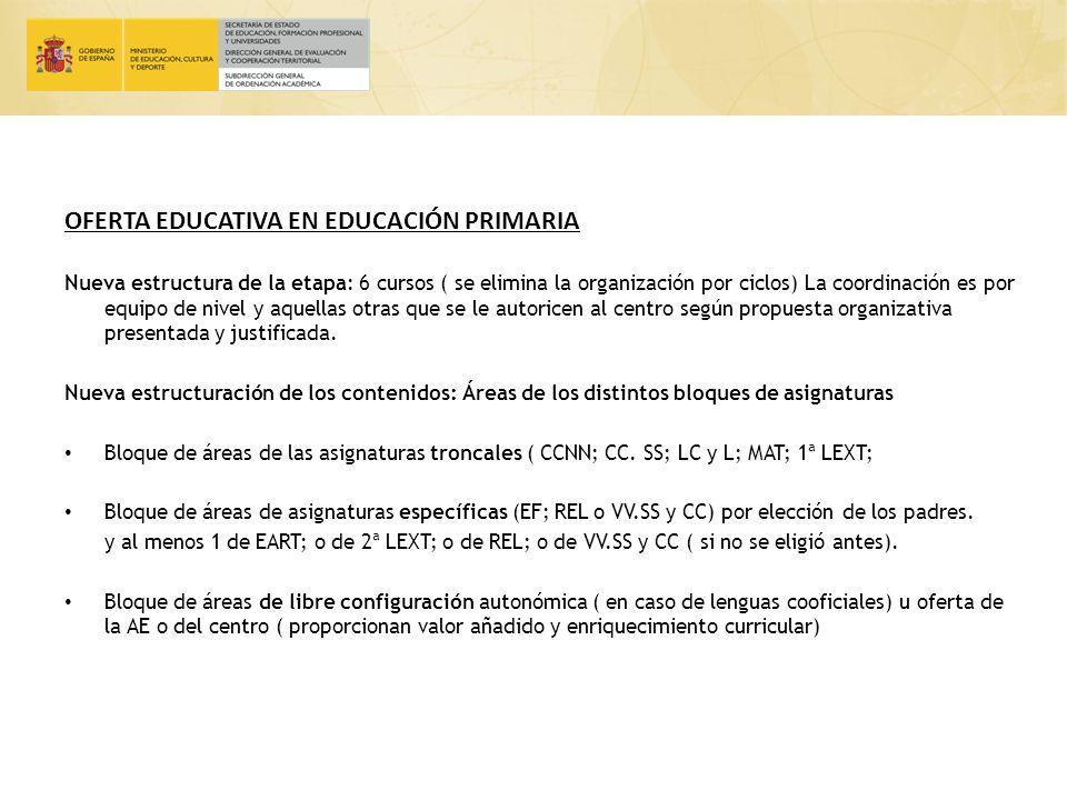 INCREMENTO DE LA AUTONOMÍA DE LOS CENTROS Centros educativos: Especialización: Planes experimentales y de innovación; formas de organización, normas de convivencia, calendario, horarios, etc.