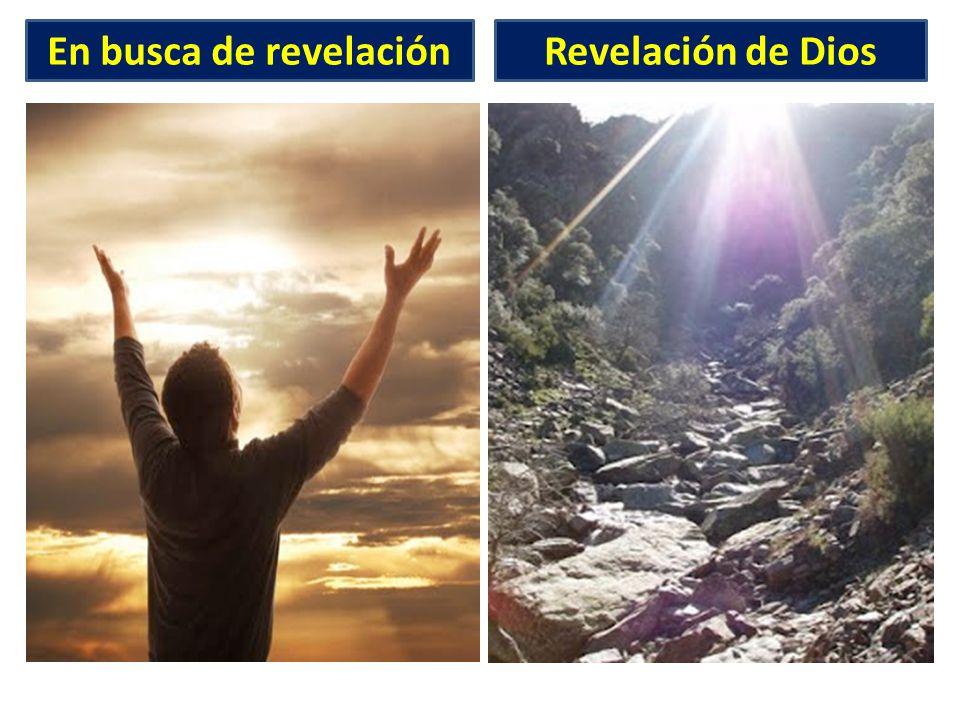En busca de revelaciónRevelación de Dios