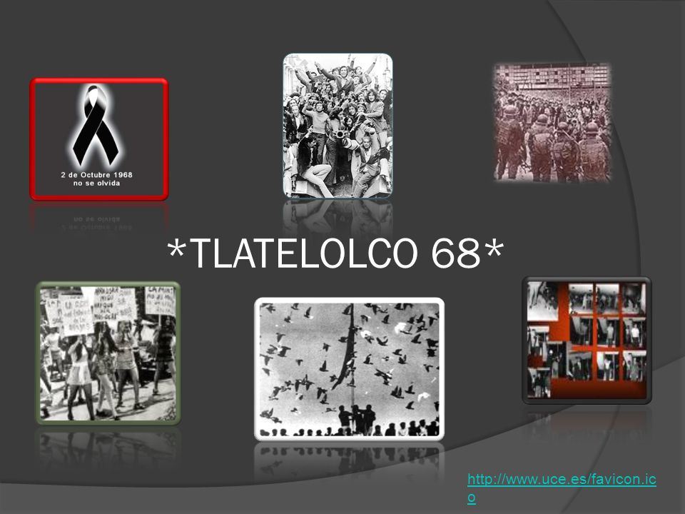 *TLATELOLCO 68* http://www.uce.es/favicon.ic o