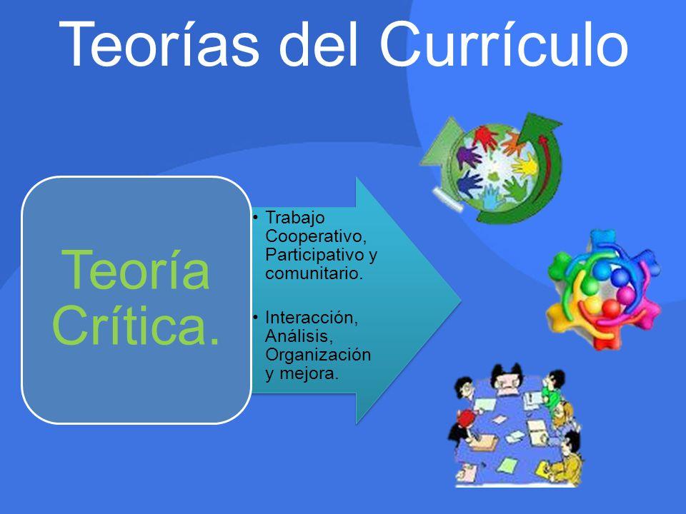 Teorías del Currículo
