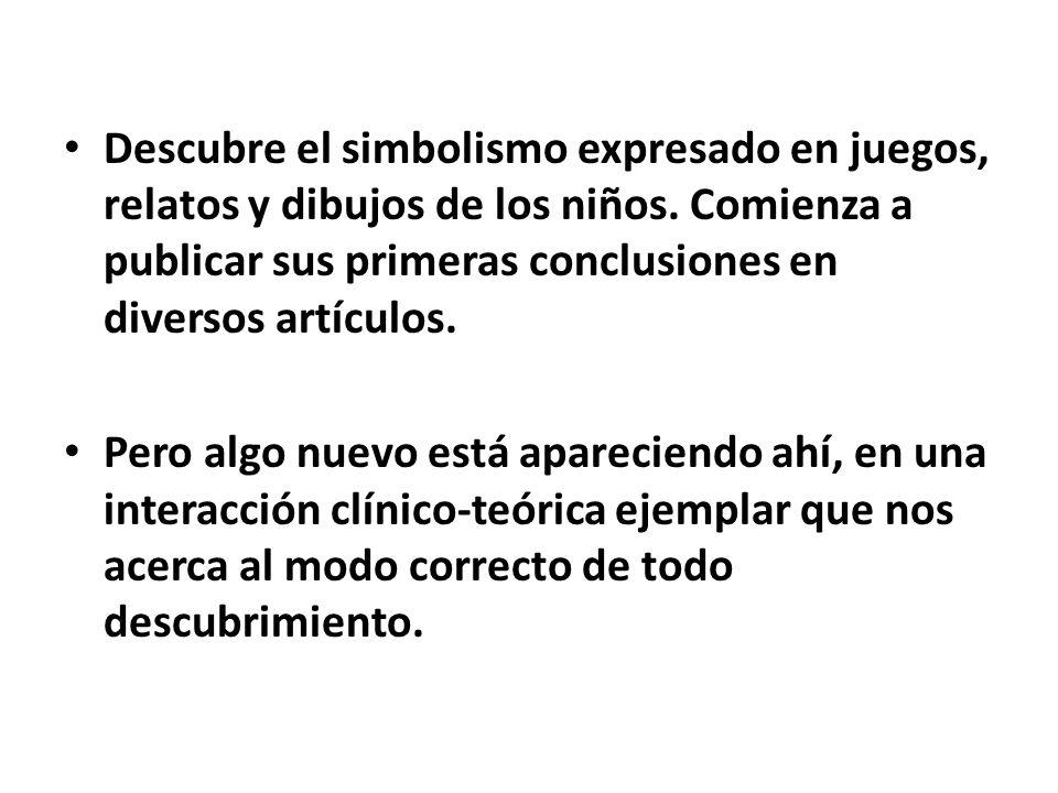 A.Técnica Psicoanalítica del Juego Análisis de niño A.