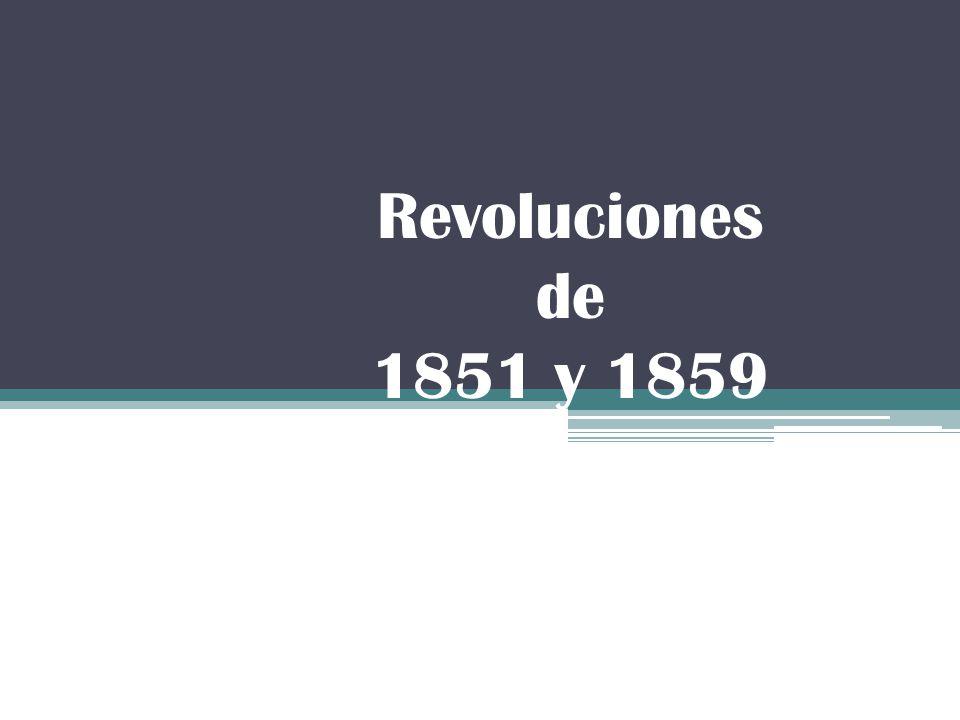 Revoluciones de 1851 y 1859