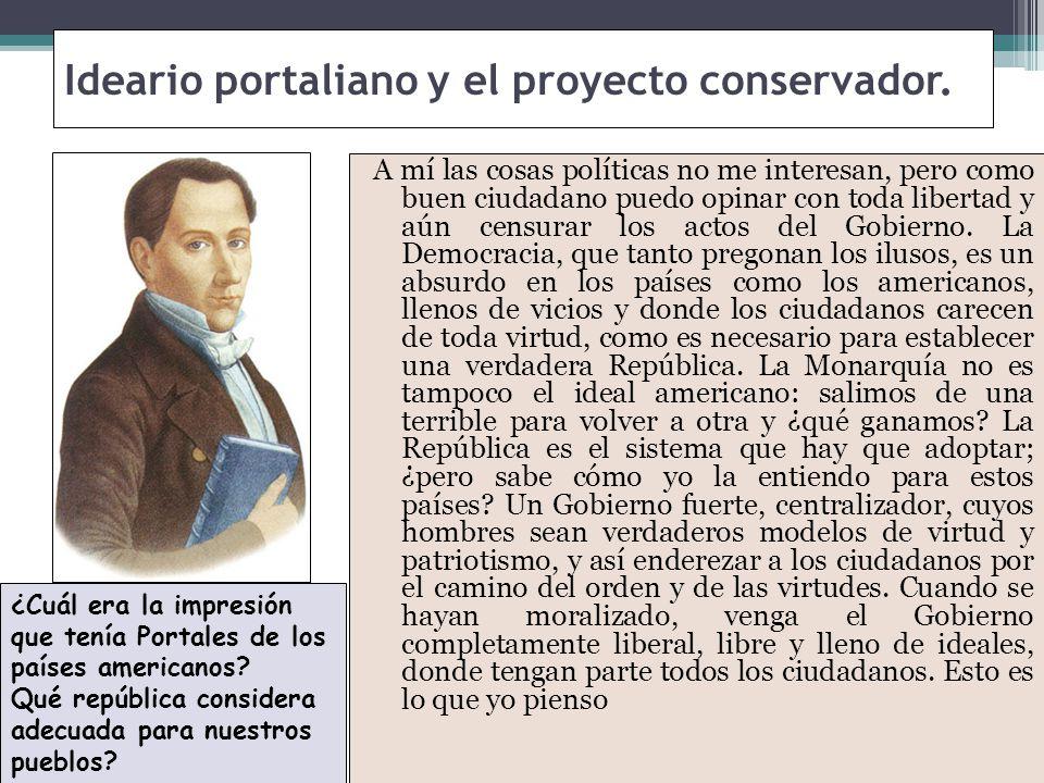 Las consecuencias del motín del 20 de abril de 1851 y de la revolución de 1851, no provocaron la extinción de las ideas liberales que tomaron nuevas energías con el regreso del exilio de sus principales líderes.