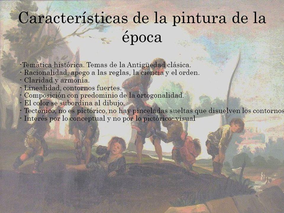 Movimiento pictórico en España Los monarcas Felipe V y Fernando VI habían llamado a pintores franceses e italianos, que iniciaron la decoración del Palacio Real.