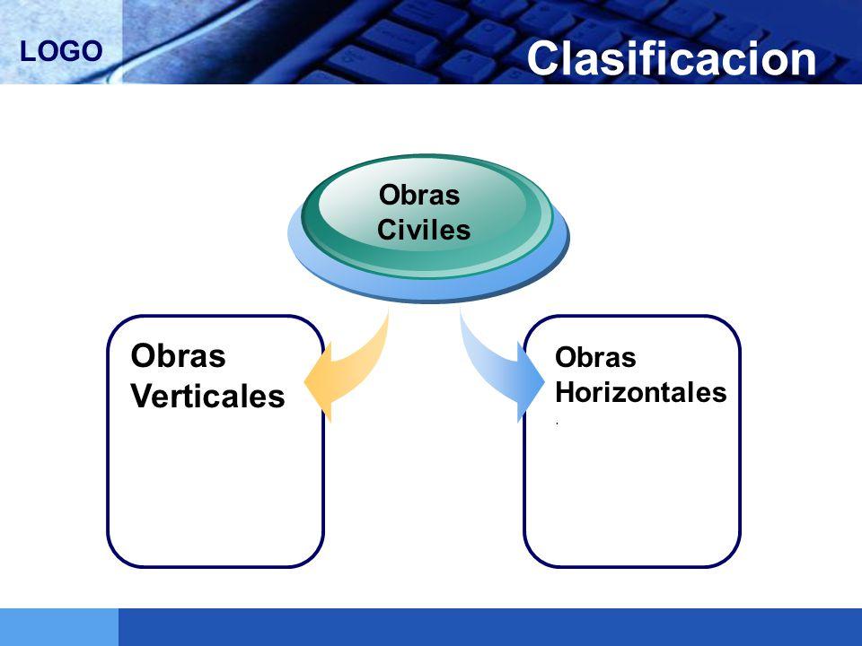 LOGO Clasificacion Obras Verticales Obras Civiles Obras Horizontales.