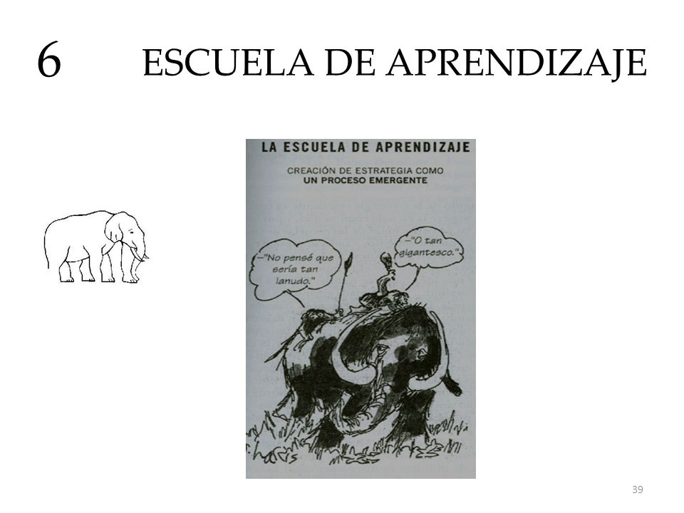 ESCUELA DE APRENDIZAJE 6 39