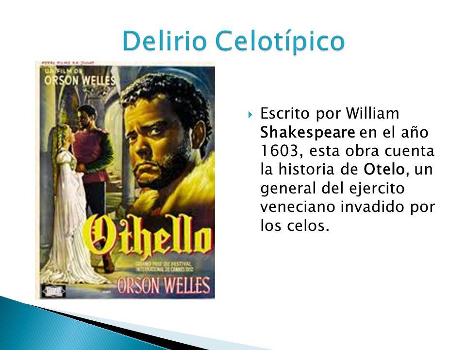 Escrito por William Shakespeare en el año 1603, esta obra cuenta la historia de Otelo, un general del ejercito veneciano invadido por los celos.
