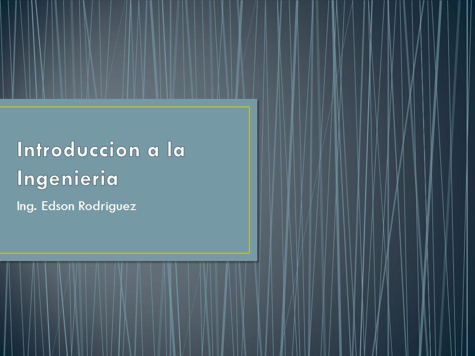 Ing. Edson Rodriguez