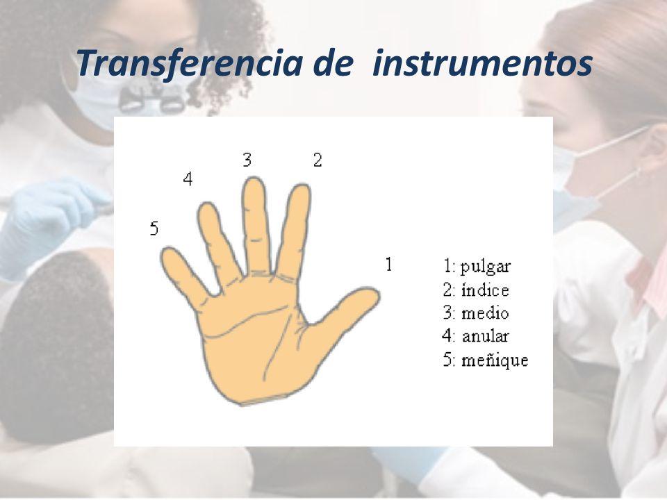 Transferencia de instrumentos