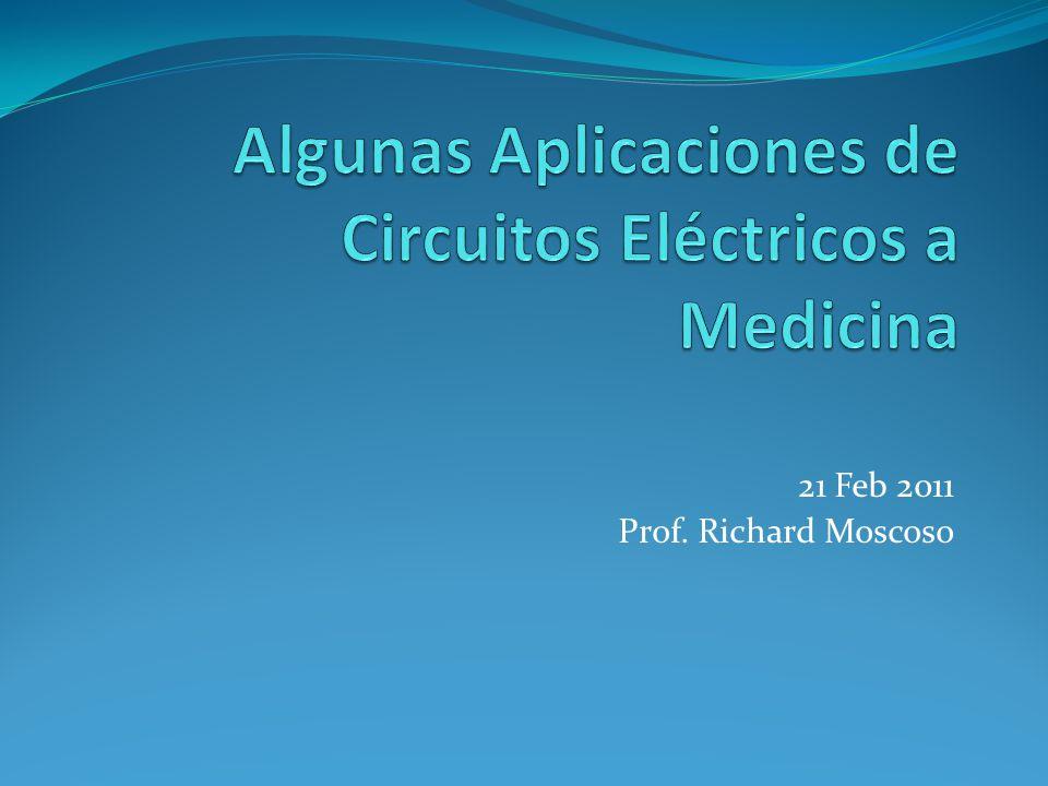21 Feb 2011 Prof. Richard Moscoso