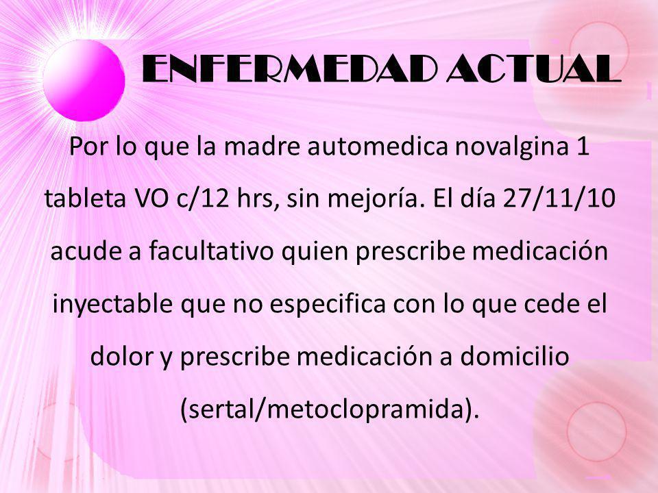 N°FECHADESCRIPCIÓNA/PRESUELTOFECHA 1429/11/10HepatomegaliaAAfectación hepatobiliar en anemia drepanocítica 29/11/10 1529/11/10Anemia moderada macrocítica AAnemia drepanocítica 29/11/10 1629/11/10HiperbilirrubinemiaAColelitiasis- Colédocolitiasis 29/11/10 1729/11/10HipoglicemiaA 1829/11/10TGO: 2.5 N; TGP: 1.2 NAColelitiasis- Colédocolitiasis 29/11/10 1929/11/10FA: 1.41 NA 2029/11/10EMO: bilirrubina, urobilinógeno AColelitiasis- Colédocolitiasis 29/11/10