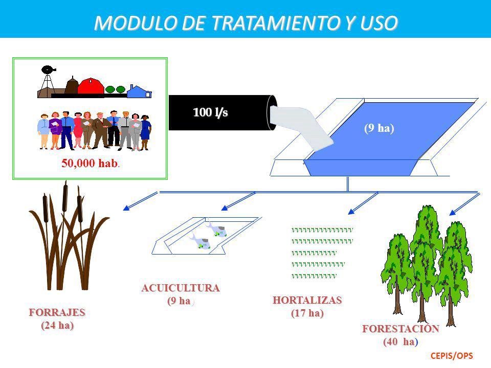AGRO CIUDAD AguasResiduales RECURSO HÍDRICO TRATAMIENTO ADECUADO CEPIS/OPS