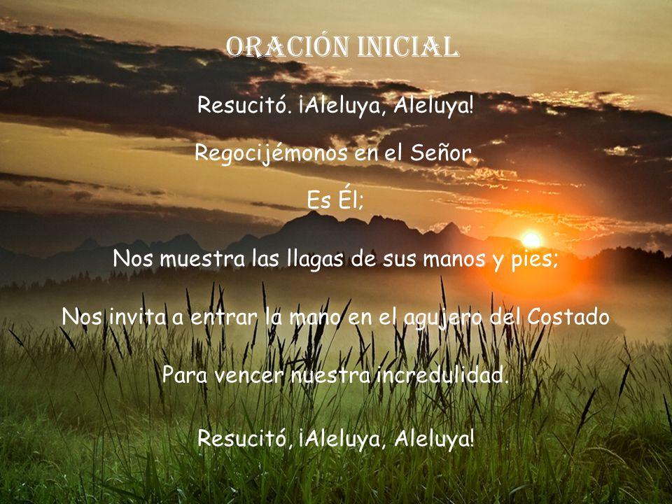 Lectio divina Domingo II Pascua Ciclo A. 20 Abril 2014 Secretariado Dioc. Cádiz y Ceuta Música: Montaje: Eloísa DJ Avance Manual