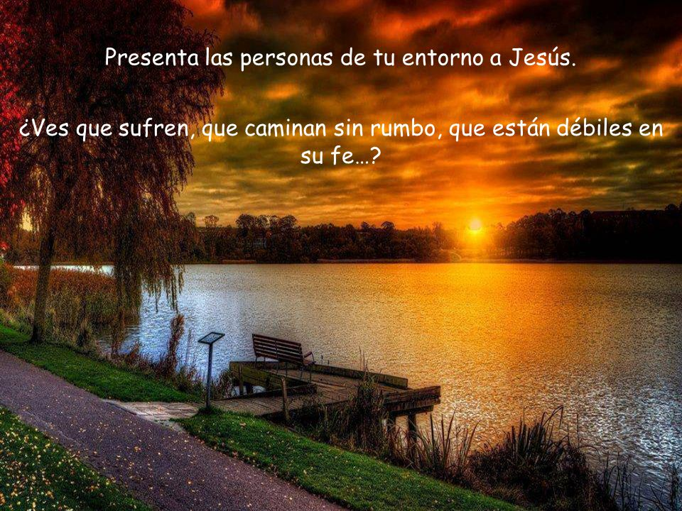 Contempla la emoción y el agradecimiento de Tomás ante el gesto de Jesús, posiblemente, también, debió entristecerse por haber dudado de su Señor.