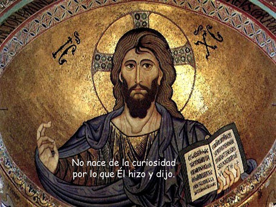 No se trata de un código de circulación ética o religiosa, sino un modo nuevo e integral de vivir la existencia ante Dios, ante los demás, ante uno mismo.