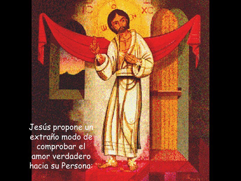 el Padre amado, el Espíritu prometido, el amor hasta la entrega total como su manifestación suprema.