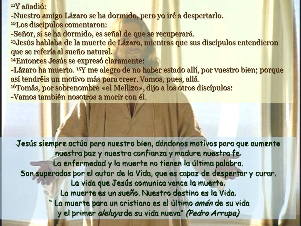 www.vitanoblepowerpoints.net Pasado este tiempo, dijo a sus discípulos: -Vamos otra vez a Judea.