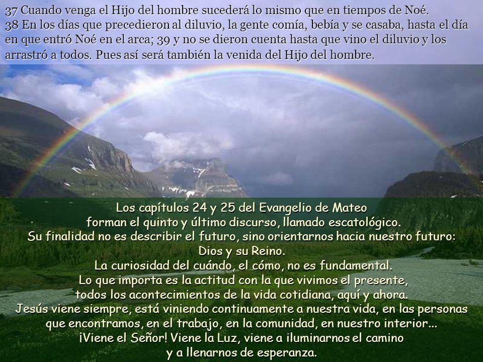 www.vitanoblepowerpoints.net 37 Cuando venga el Hijo del hombre sucederá lo mismo que en tiempos de Noé.