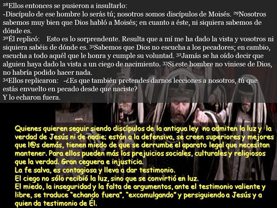 www.vitanoblepowerpoints.net 24 Entonces llamaron por segunda vez al hombre que había sido ciego, y le dijeron: -Dinos la verdad delante de Dios. Sabe