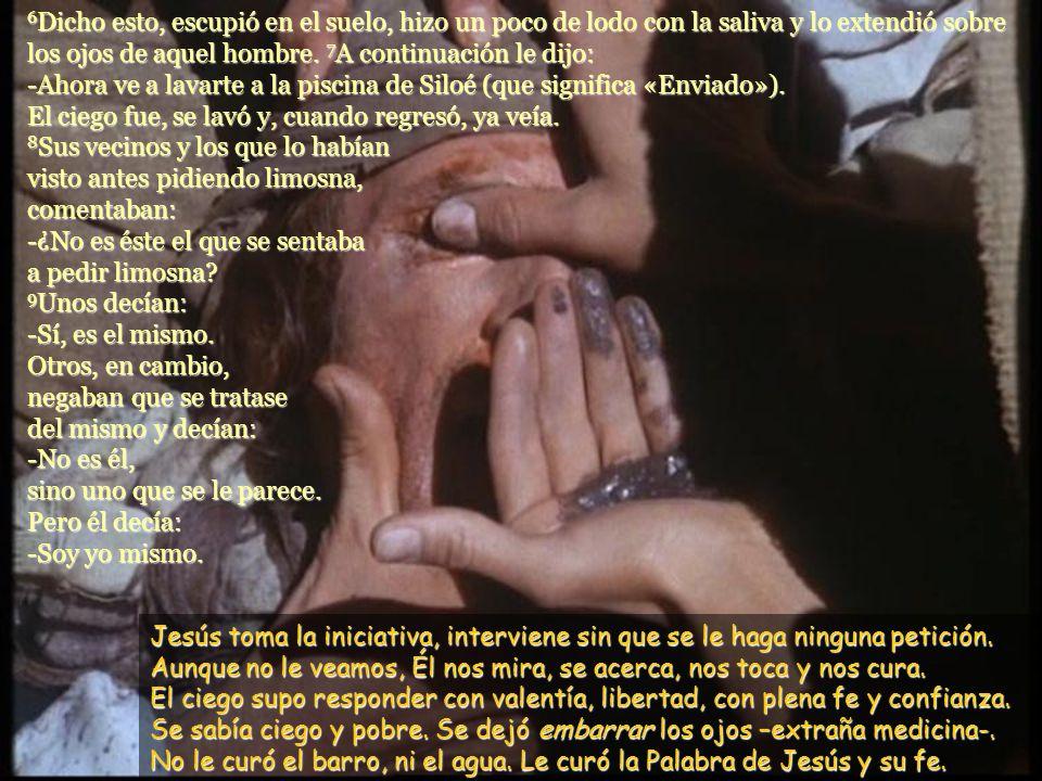 www.vitanoblepowerpoints.net 3 Jesús respondió: -La causa de su ceguera no ha sido ni un pecado suyo ni de sus padres. Nació así para que el poder de