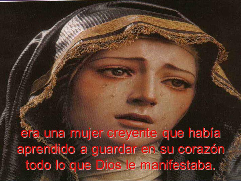 era una mujer que sabía de la fidelidad de Dios, de cómo Él hace posible lo que para nosotros es imposible;