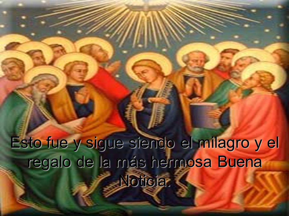 No la confusión de Babel, sino el multilingual y eterno anuncio de Pentecostés.