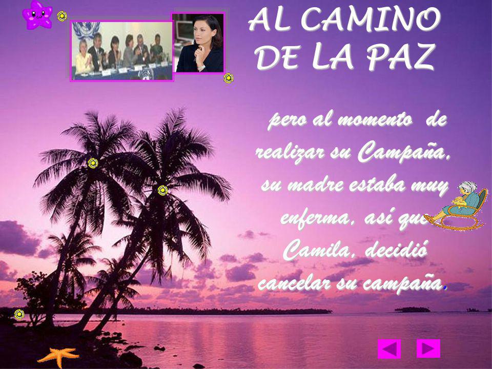 Camila se destacó por ser una excelente defensora de los derechos humanos.