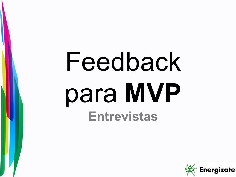 Feedback para MVP Entrevistas
